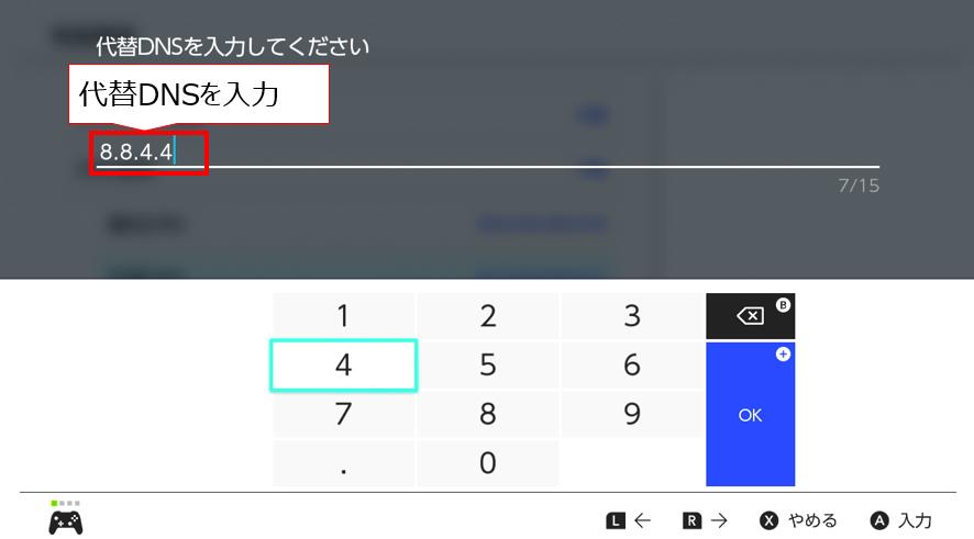 switchのDNSの設定9