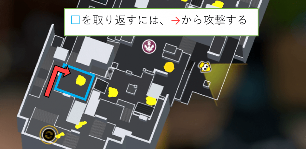 海女ヤグラの第三カンモンを守るために正面平場を取り返す方法