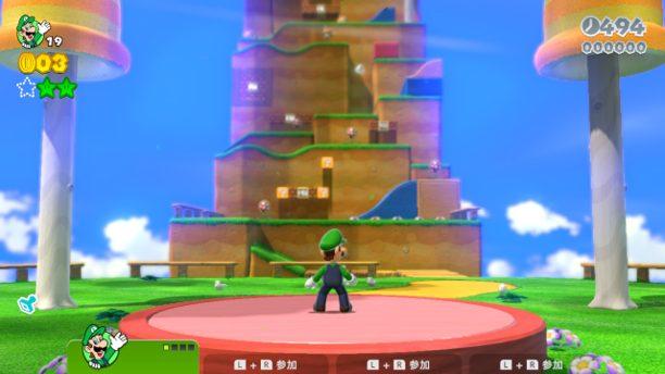 スーパーマリオ3Dワールドのステージ画像