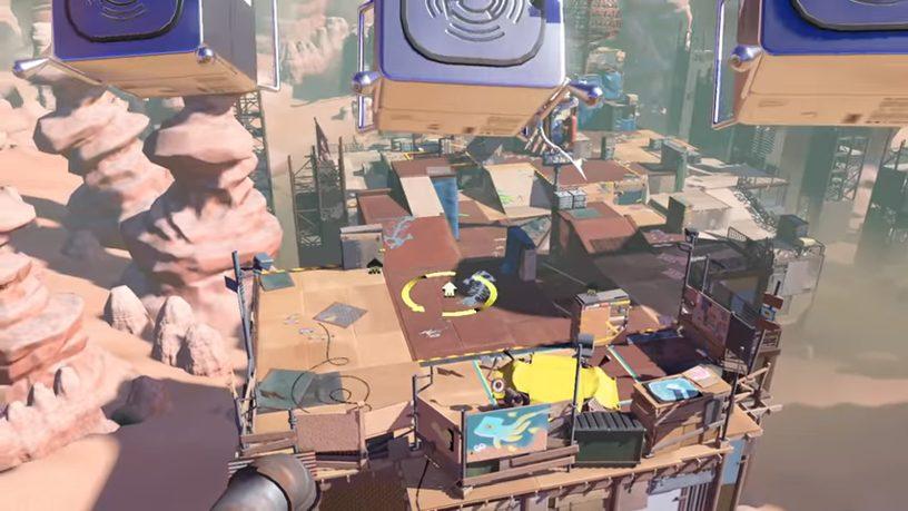 スプラトゥーン3のリスポーンが選べる画像